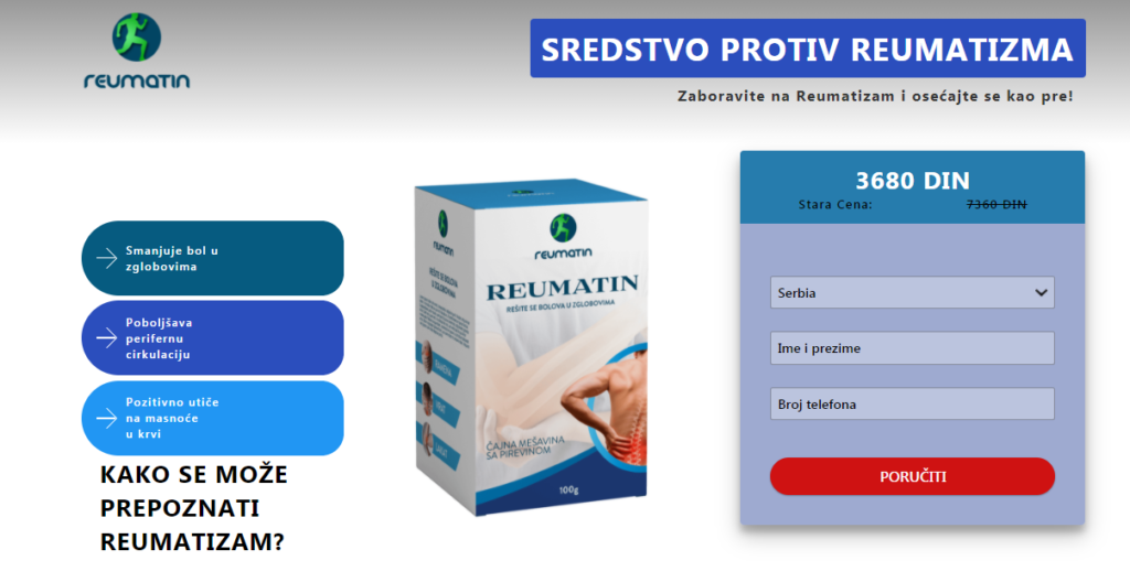 Reumatin recenzije