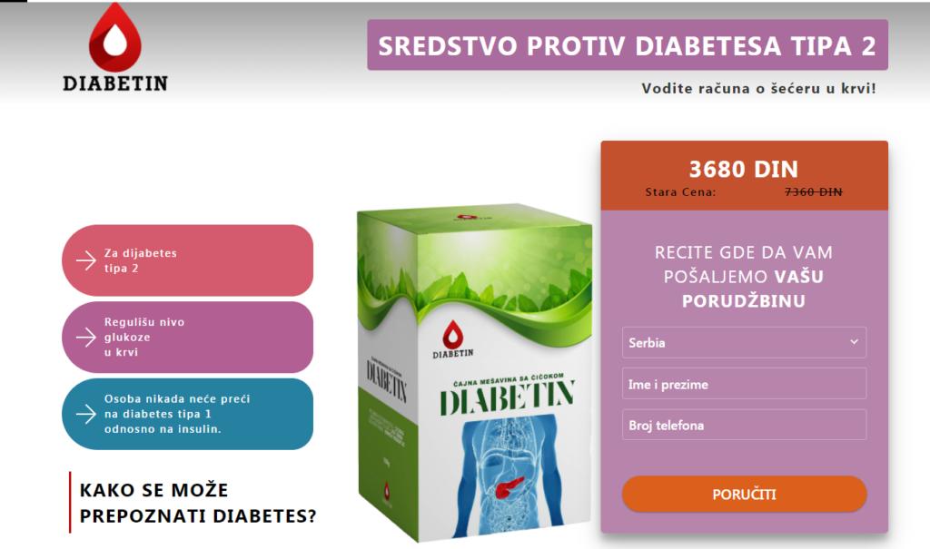 Diabetin recenzije