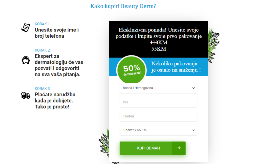 Beauty Derm mišljenje,