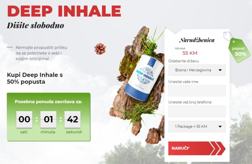 Deep Inhale cena