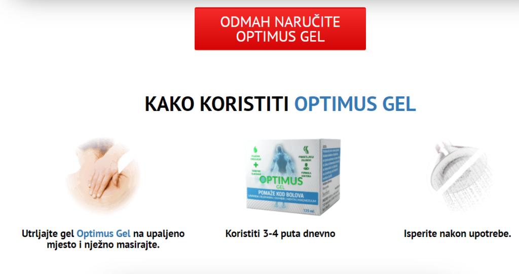Optimus Gel Cijena
