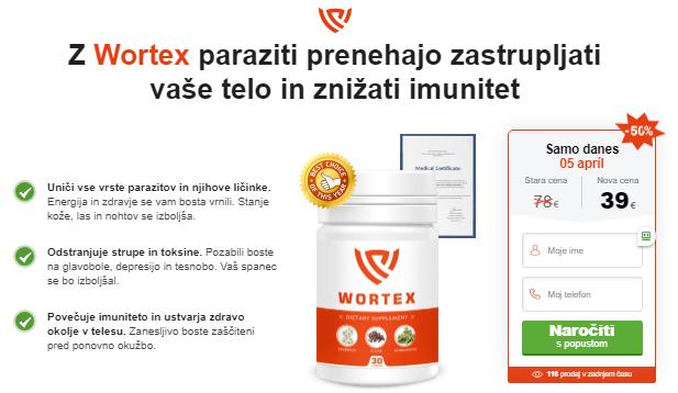 Wortex Prednosti
