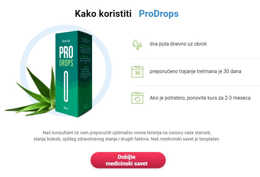 ProDrops Cijena